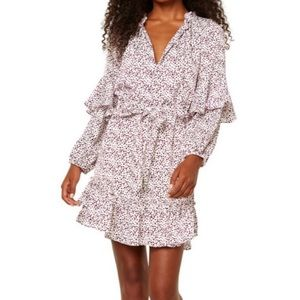 Misa Los Angeles Polka dot dress